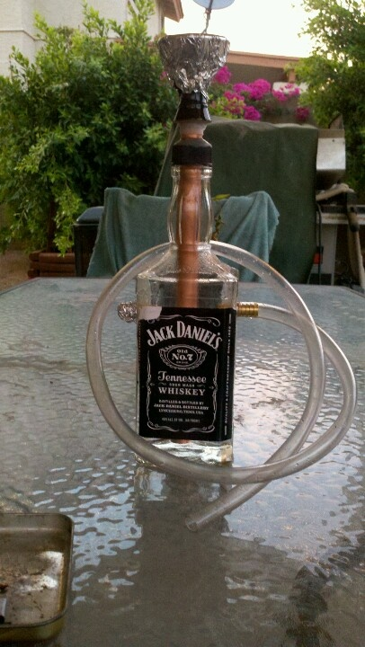 homemade hookah would love to do this hookah love. Black Bedroom Furniture Sets. Home Design Ideas
