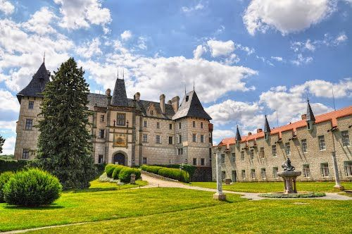 Zleby Chateau, Pardubice, #CzechRepublic