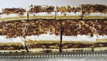 Prajitura cu foaie sfaramata – Bucataria Romaneasca