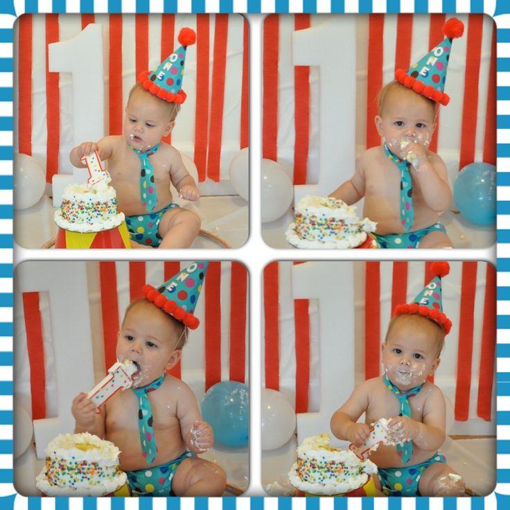 First birthday circus theme