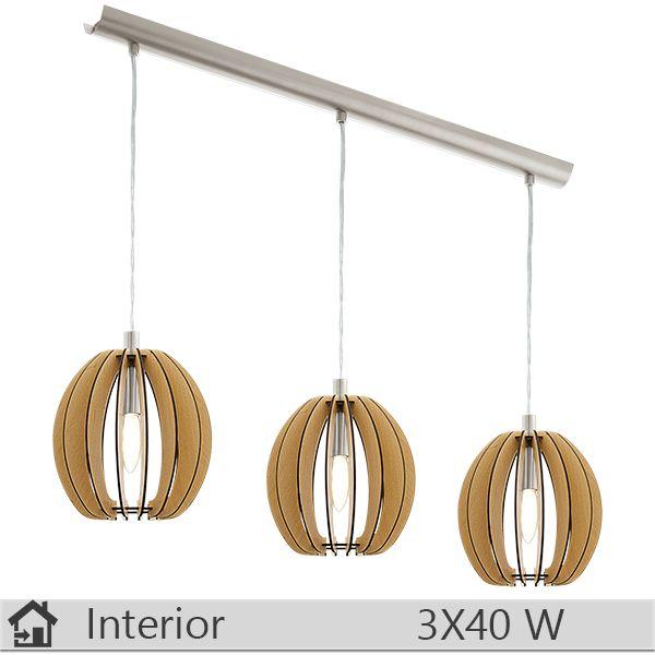 Lustra iluminat decorativ interior Eglo, gama Cossano, model 94769