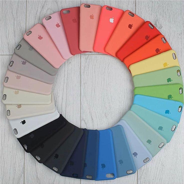 ⭐️SILICONE CASES nuestro producto más vendido. Vienen en variedad de colore…