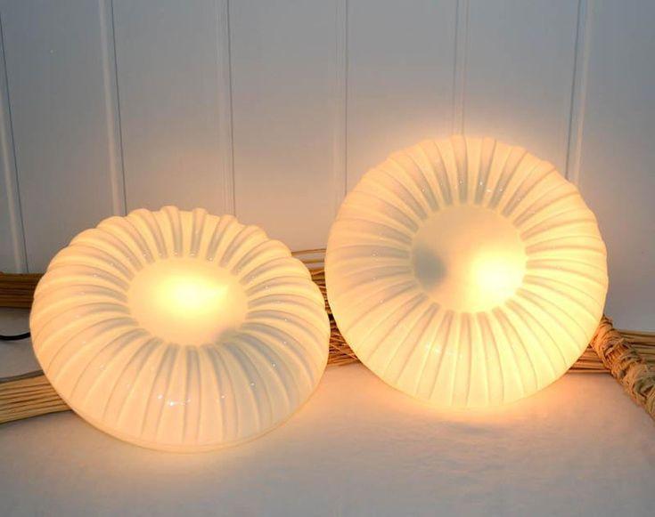 Vintage Deckenlampen - Wandlampe Deckenlampe 60er 70er Design (L94) - ein Designerstück von Deep-mPree bei DaWanda