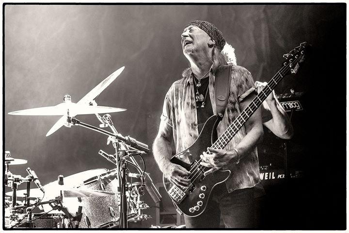Roger Glover of Deep Purple by Clemens Mitscher Rock & Roll Fine Arts Copyright holder for this art work:  Clemens Mitscher / VG Bild-Kunst Bonn.