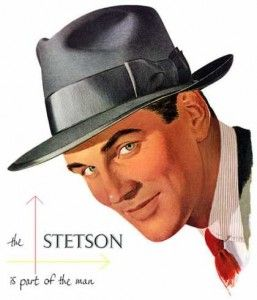 1950 mens fedora stetson whippet    if the guys could all hat hats like this for the photos...would be awesome!