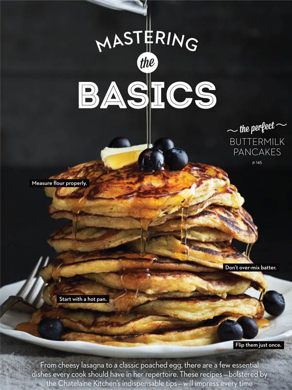 Food Styling: Ashley Denton, Judy Inc / Photography: Eric Putz #food #pancakes #breakfast #homemade