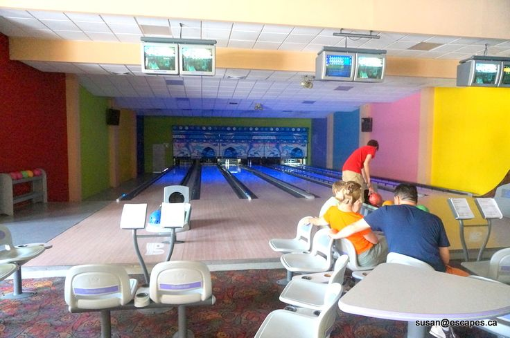 Bowling at Ocean Blue and Sand in Punta Cana