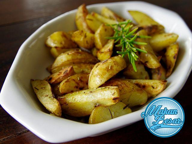 Resep Potato Wedges