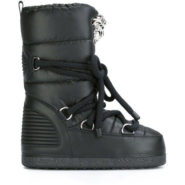 7097fcca7f Versace 'Palazzo' snow boots (€505) ❤ liked on Polyvore featuring ...