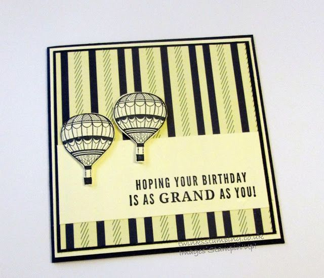 Twinks Stamping | Stampin' Up! Demonstrator: Truely Tailored Happy Birthday