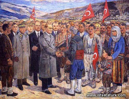 Mehmet Ruhi Arel - Ataturk