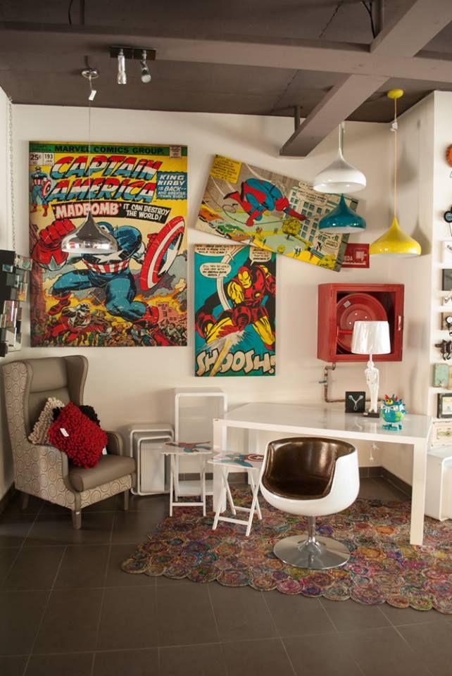 ¿Siempre has querido ser un Superhéroe? Esta es la oportunidad perfecta para que tengas tu propia Baticueva. #Kare, #Comics, #Marvel, #DC, #SuperHero.