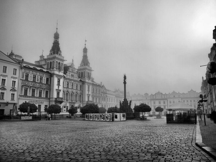 Lukáš Zezulka, Pardubice - Pernštýnské náměstí  Sice bez sněhu, ale to k letošní zimě patří