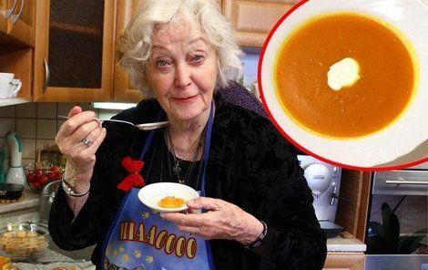 Květa Fialová a její Hokkaidó polévka
