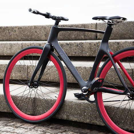 """Smart"" bicycle by Vanhawks gives directions with flashing lights and vibrating…"