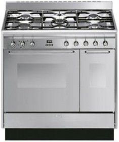 Smeg 90cm Dual Fuel Range Cooker CC92MX9 - WAS £1009 THEN £899  **NEW SPECIAL PRICE** £749  http://www.pauldavieskitchensandappliances.co.uk/cooking-appliances/range-cookers/smeg-90cm-dual-fuel-range-cooker-cc92mx8.html