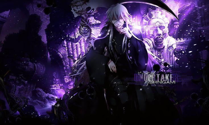 Black Butler | Undertaker Wallpaper by Madam-Shyarly ...  Black Butler | ...