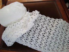 Crochet paso a paso: 2) Manta bebe