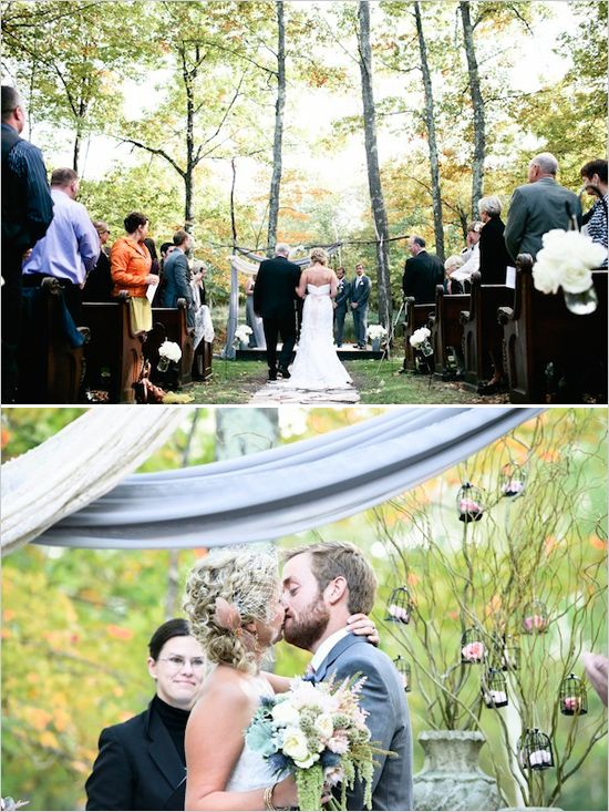 rustic outdoor ceremony ideas from Bash Collective. #weddings #photogrphy