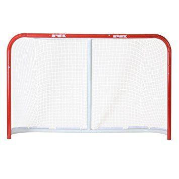 """Base Cage de hockey de rue pliant 54"""" 137 x 112 x 66 cm Rouge rouge 54"""" (137,16 cm)"""