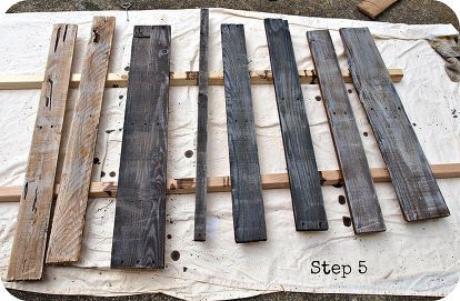 Www.Simplyswider.com how to age wood with paint and stain
