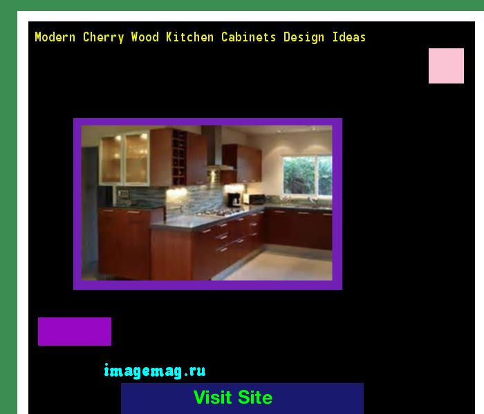 Modern Cherry Wood Kitchen Cabinets Design Ideas 115208 - The Best Image Search
