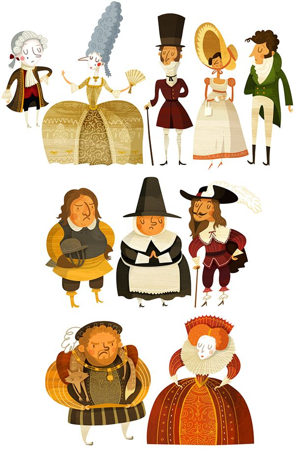 Historical Characters on Behance