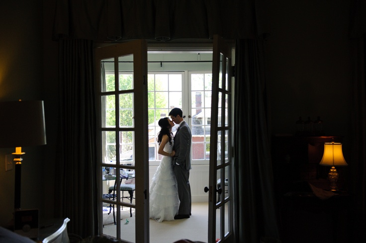Couple in the Trinity Suite.