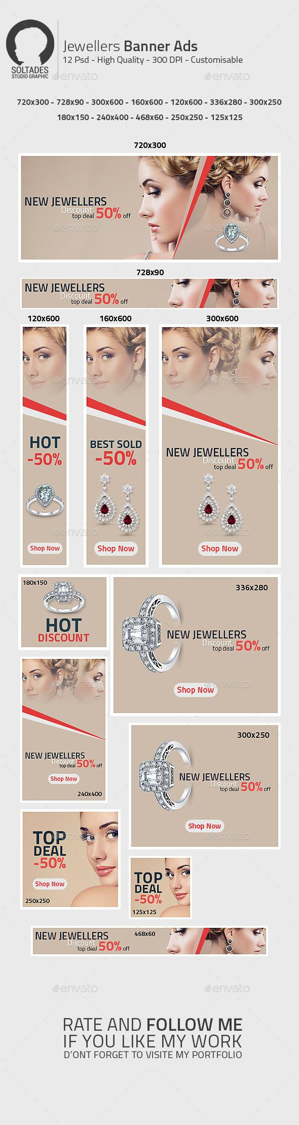 Jewellers Banner Ads