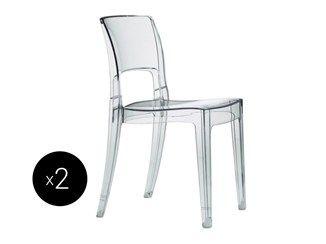 Cadeira de policarbonato ISY   Cadeira de policarbonato - SCAB DESIGN