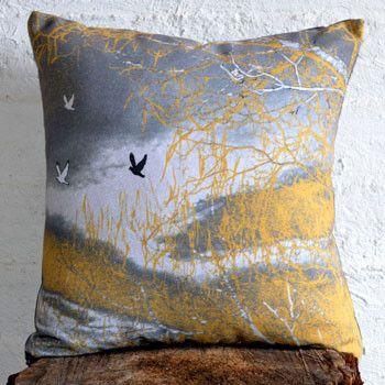 Green Moss Tree 98% Recycled Cushion Cover - Made in Tasmania, Australia – Bits of Australia