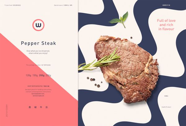 W - Steak on Behance