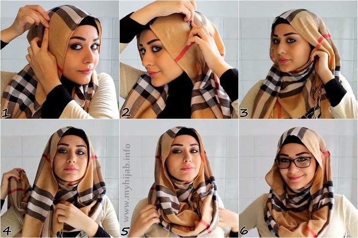 hijab tutorial [for glasses]