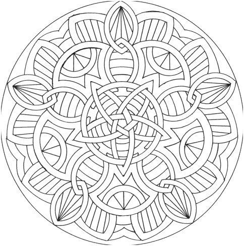 Coloriage À Imprimer Mandala Difficile . 14 Majestic