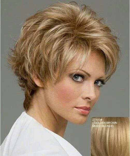 This is a wig, but I like the style.