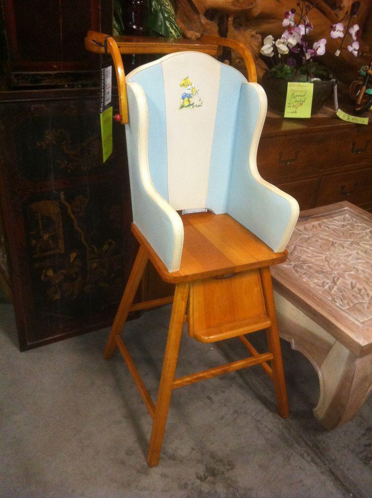Heywood Wakefield Baby High Chair So Cute