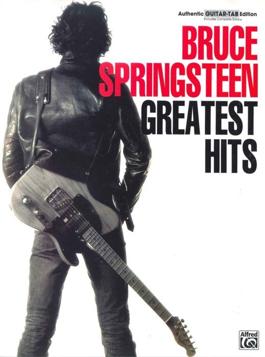 Bruce Springsteen: Greatest Hits - Guitar Tab. £19.99