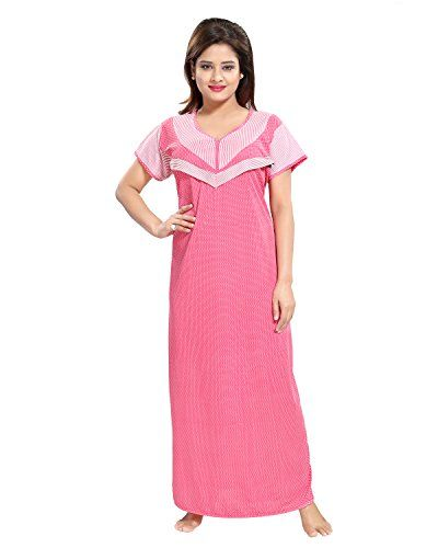 Tucute Women s Beautiful Dotted Print Feeding   Maternity   Nursing Nighty   Nightwear.  a2d4dceae
