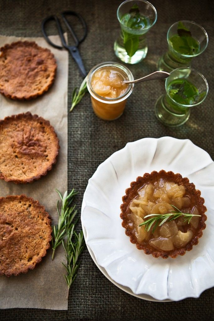 """Pear Tartlets. Because pears are delicious. And everything is cuter when it ends in """"let"""". #royalrivierapears #recipe"""