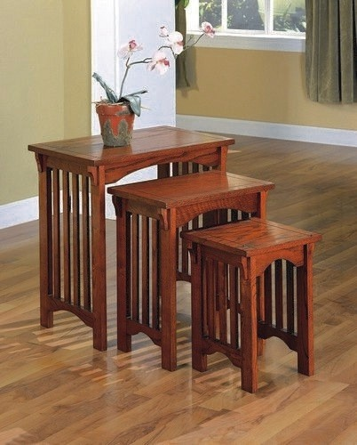 272 best mission craftsman style images on pinterest for Mission style kitchen table