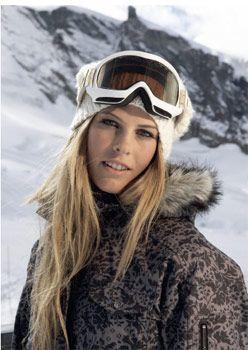 Torah Bright  Professional Snowboarder  Olympic Gold medalist    Yep, I totally met her a few days ago. :)