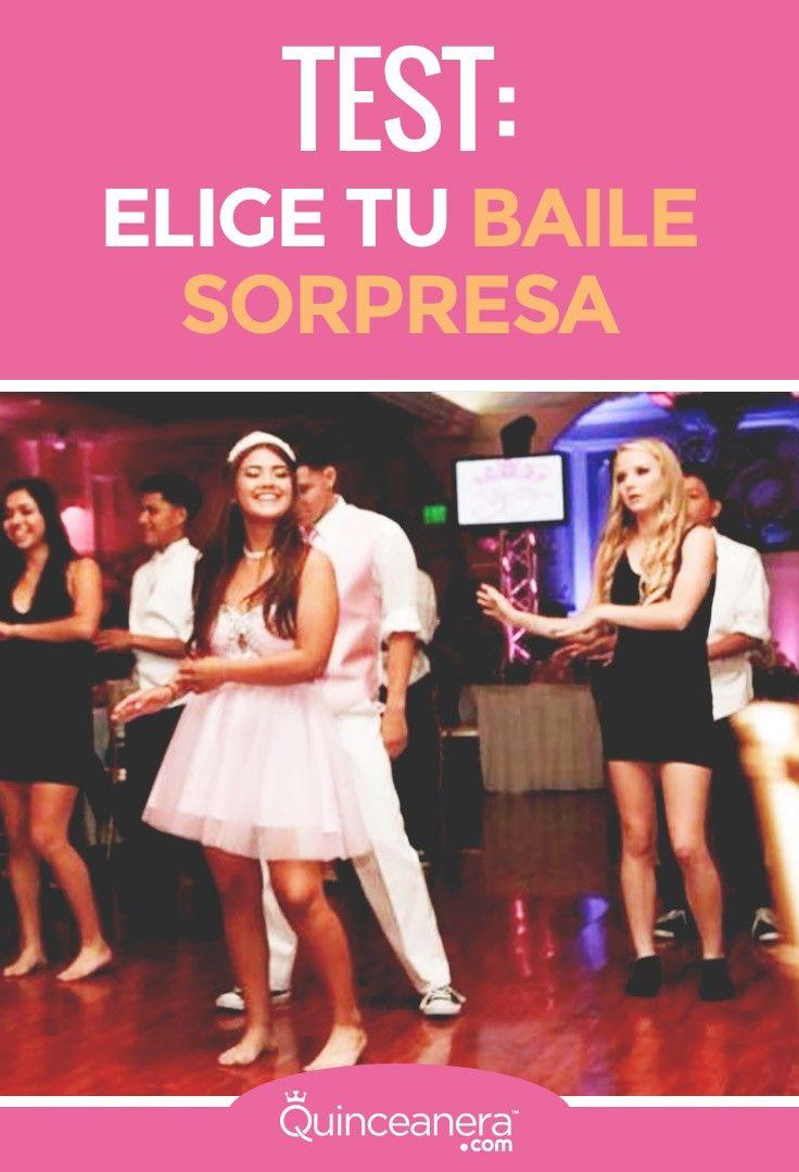 test baile sorpresa