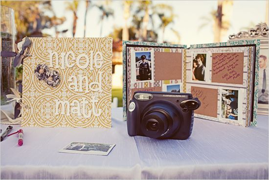 Polariod for guest book