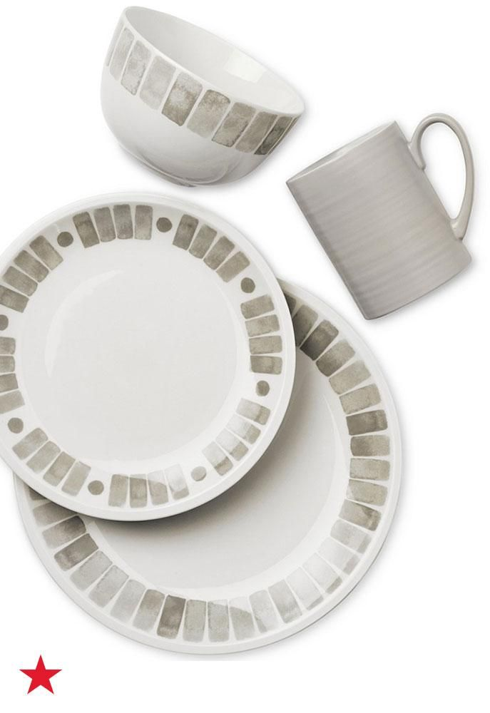 Refresh your tablescape with this elegant-looking Martha Stewart Collection Heirloom dinnerware set. The neutral colors make it easy to add pops of color with placemats, centerpieces and more. Shop now on macys.com!