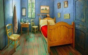 Airbnb ( エアビーアンドビー )で泊まれるゴッホの寝室
