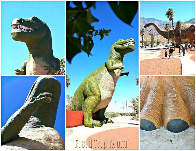 Field Trip Mom : Cabazon, California  is home to iconic roadside ar...