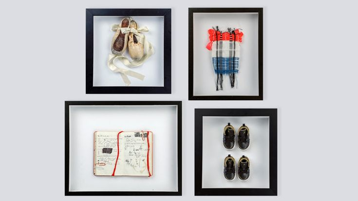 Instant art: Turn any keepsake into a statement piece with a shadow box | DIY shadow box, how to make a shadow box, DIY keepsake shadow box, DIY wall art, how to make wall art, mother's day gift ideas, gifts for mom, gifts for grandma, DIY mother's day gifts, DIY meaningful gifts