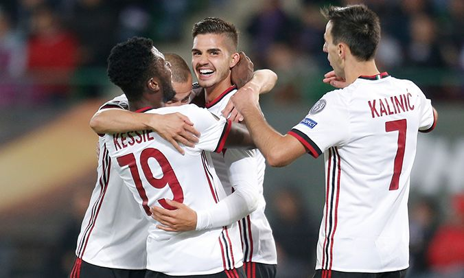 (adsbygoogle = window.adsbygoogle || ).push({});  Watch AC Milan vs Austria Vienna Soccer Live Stream  Live match information for : Austria Vienna AC Milan UEFA Europa League - Group Stage Live Game Streaming on 23-Nov.  This Soccer match up featuring AC Milan vs Austria Vienna is scheduled to commence at 21:05 UK - 01:35 IST.   #AC Milan 2017 Game Live #AC Milan 2017 Round 5 #AC Milan 2017 Soccer #AC Milan 2017 Soccer Online Betting Predictions #AC Milan soccer live s