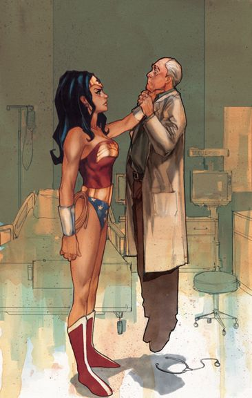 Wonder Woman 198 by Phil Noto. I'm digging the 60's haircut.