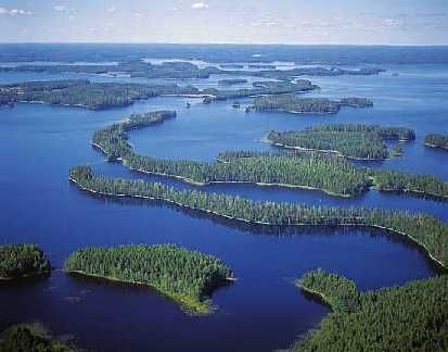The Land of 1000 Lakes......Finland